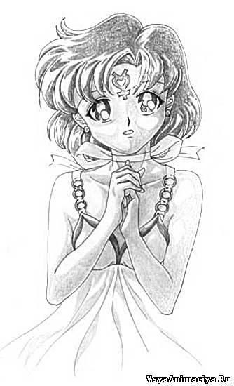 красивые рисунки карандашом аниме: